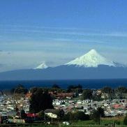 Drive home-Volcano Osorno in Puerto Varas